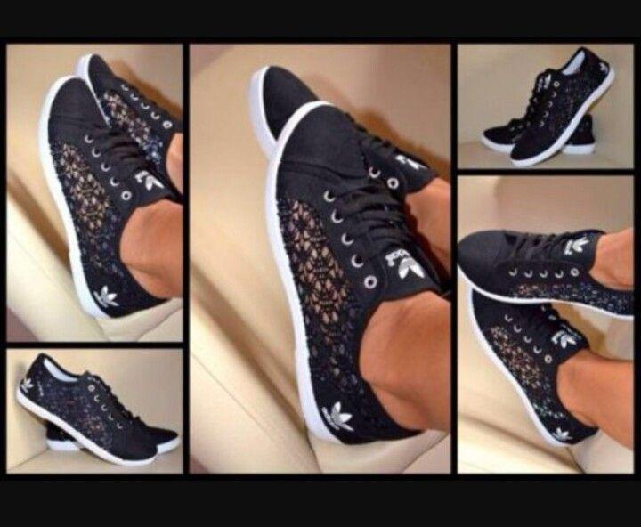 sneakers adidas dentelle femme
