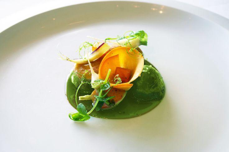 From Per Se, New York plating Food plating, Food, Food art