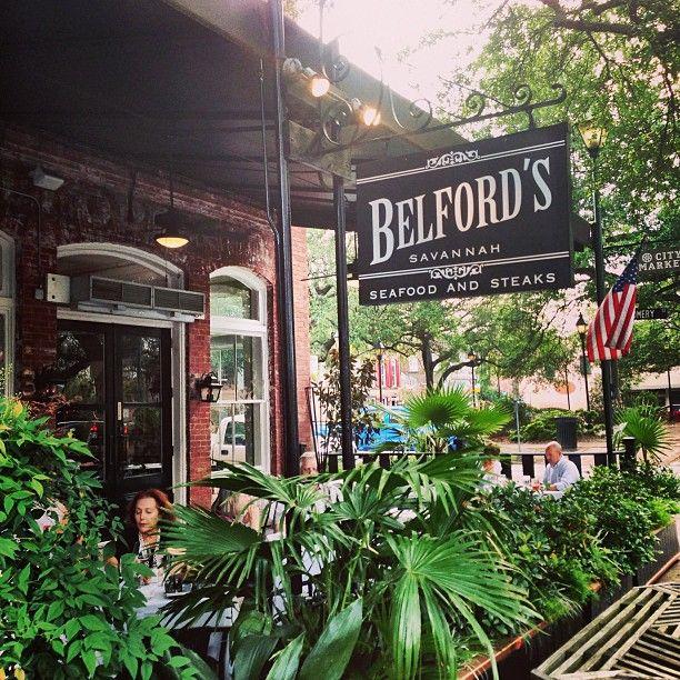 Belford Restaurant Savannah Ga
