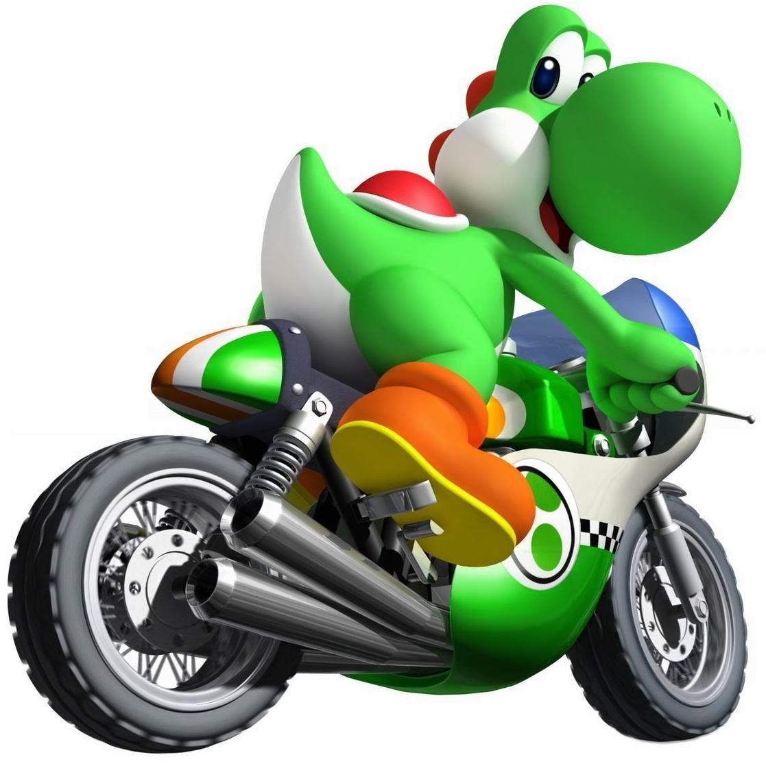 Yoshi Mario Kart Wii Jpg 1117 1121 Mario Et Luigi Yoshi