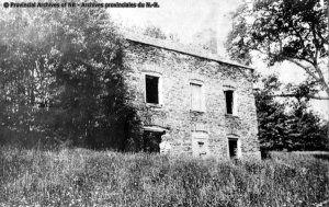 Old Mount House, Grimross Island, St. John River at Gagetown