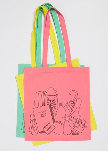 Cutey College Student S Ping Bag Design Packaging Merchandise Bags Cute