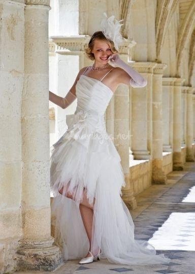 Une robe courte ET longue !