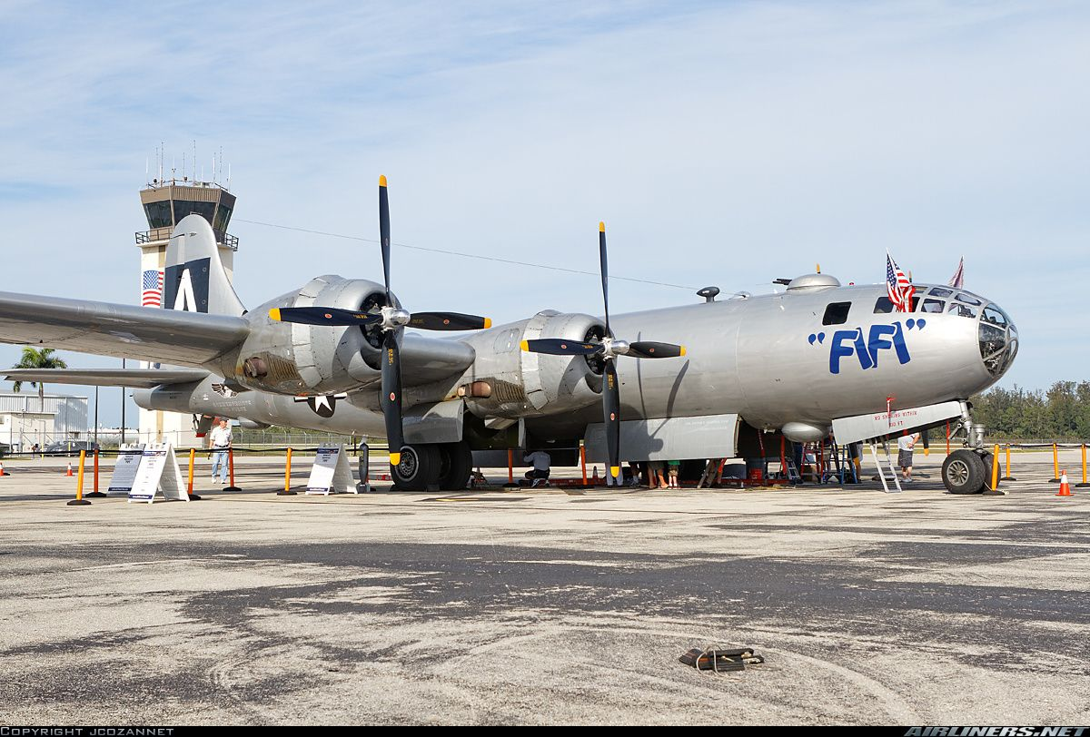 Commemorative Air Force Boeing B29A Superfortress Naples
