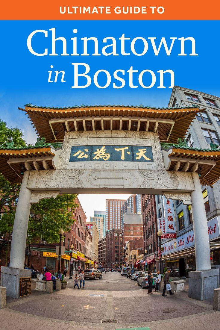 Chinatown Boston Visitor Information Guide Boston Vacation