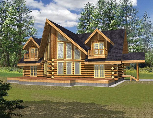 House Plans Home Plans And Floor Plans From Ultimate Plans A Frame House Plans Log Cabin House Plans Cabin House Plans