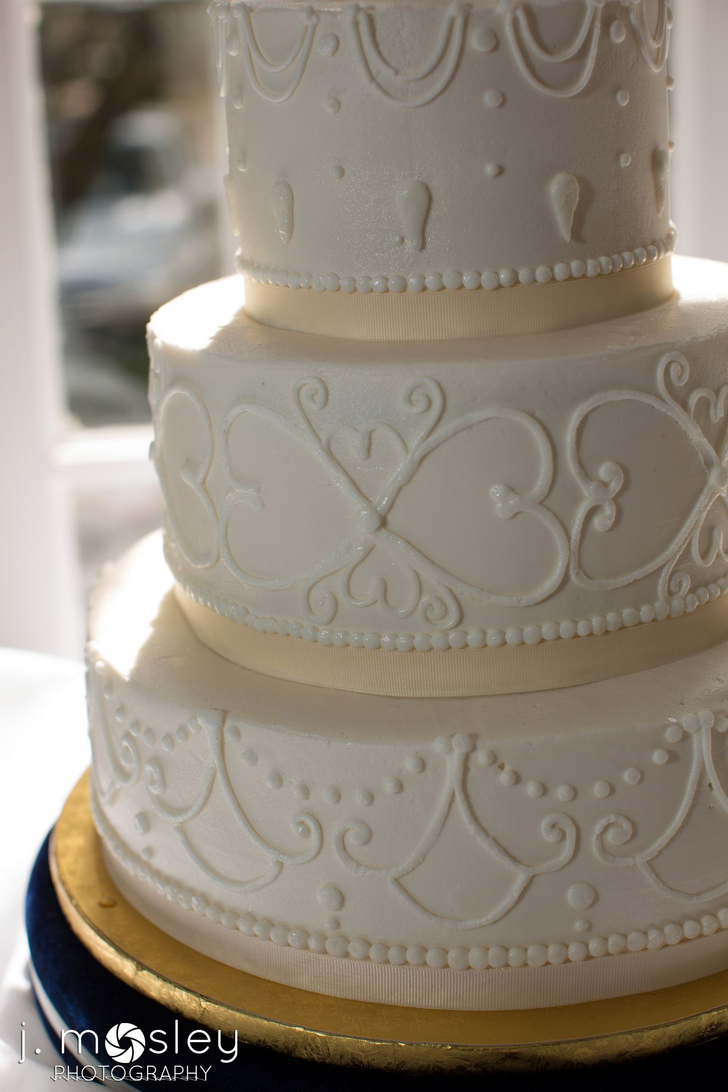 Pin By Kelly On Our Wedding Wedding Cake Frosting Designs Wedding Cake Frosting Wedding Cake Photos