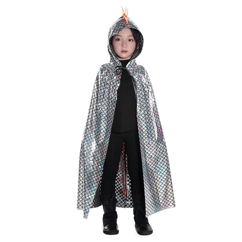 Doxrmuru Halloween Costume Girls Princess Hooded Cape Cloaks for Kids