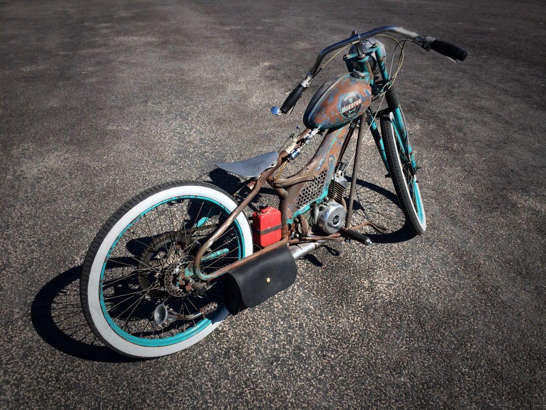 50cc Rat Rod Moped v1.0   Hot Rods   Motorrad, Fahrrad, Rädern  50cc Rat Rod Mo...