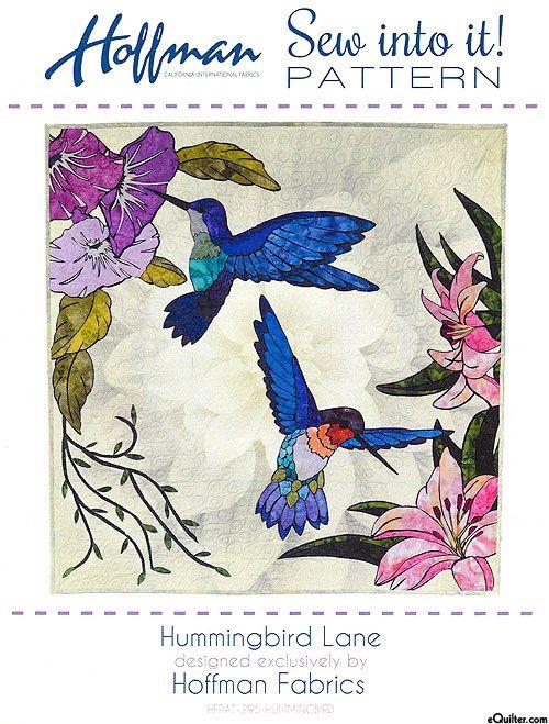 Hummingbird Lane Appliqu 233 Pattern By Joann Hoffman
