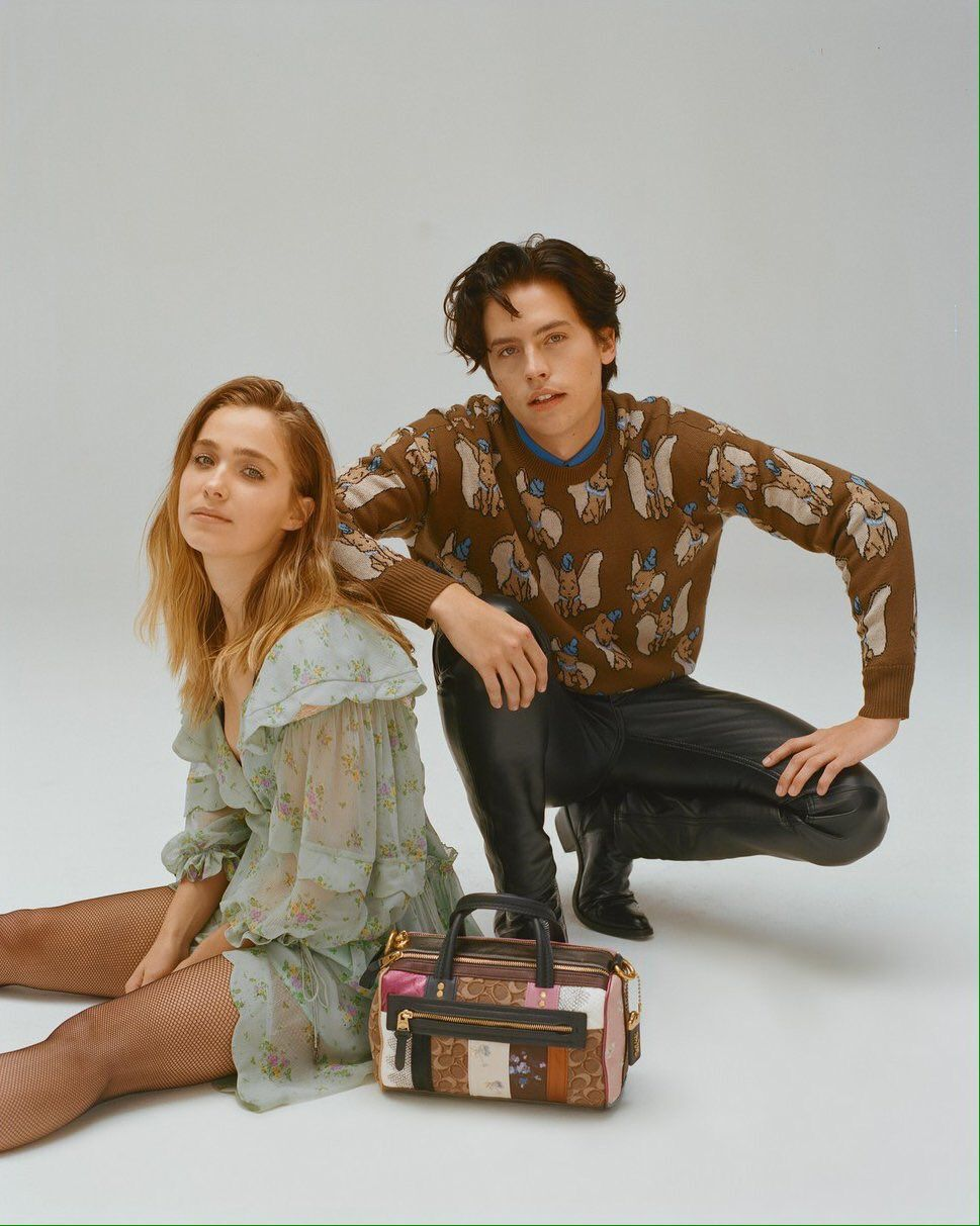 "Cole Sprouse Daily on Twitter: ""📷 Cole Sprouse & Haley Lu Richardson for Wonderland magazine… """