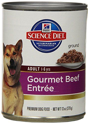 Hill S Science Diet Adult Advanced Fitness Gourmet Beef Entree Dog
