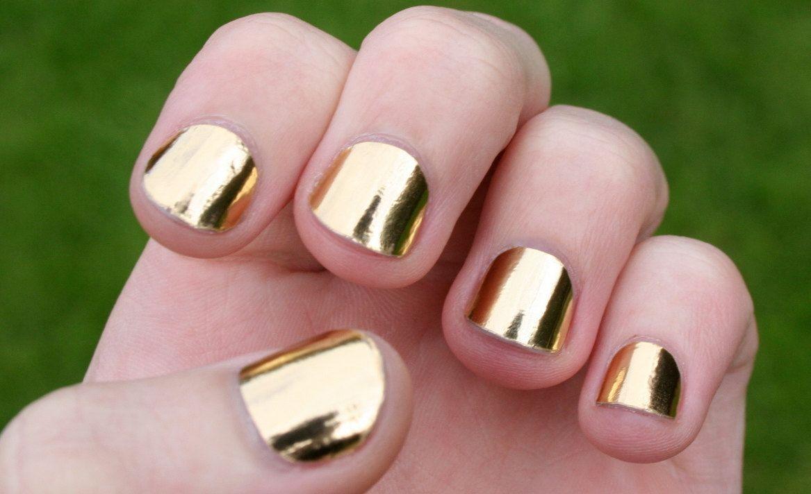 Solid Gold Nail Wraps   Nail wraps, Gold nail and Gold