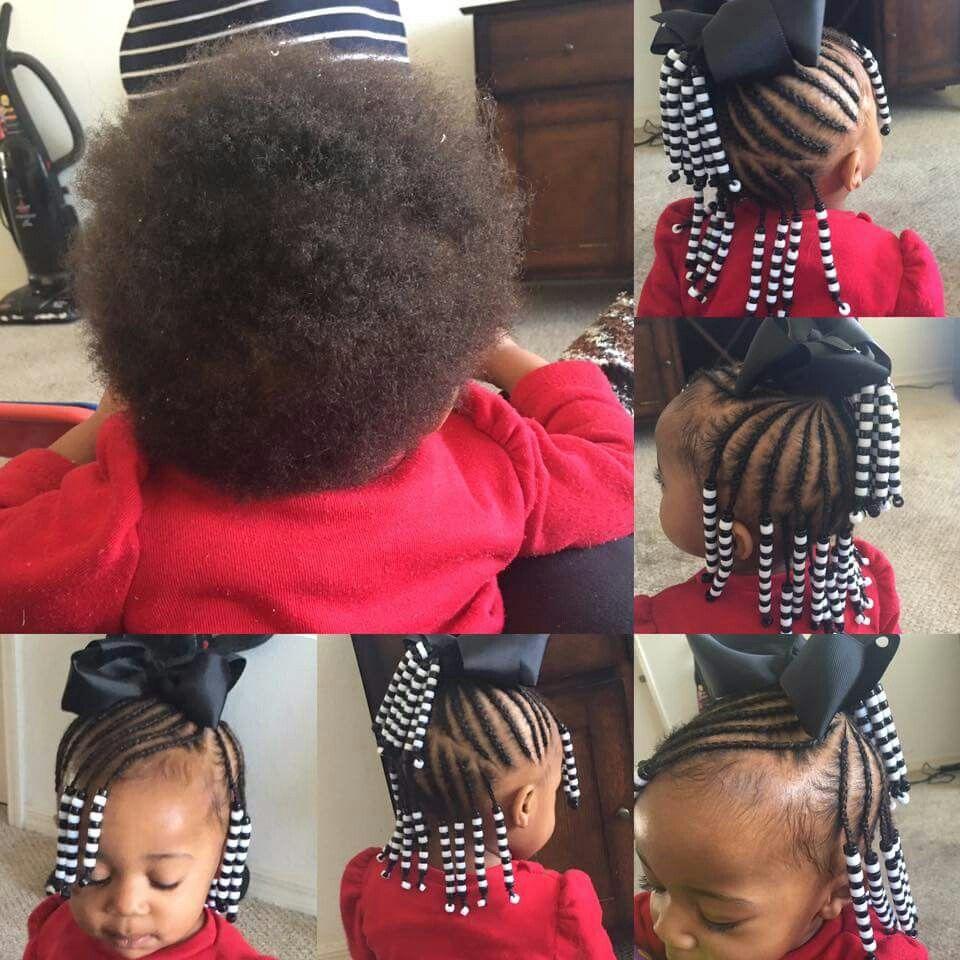 Pin By Na Tashia Lewis On Hair Toddler Braided Hairstyles Baby