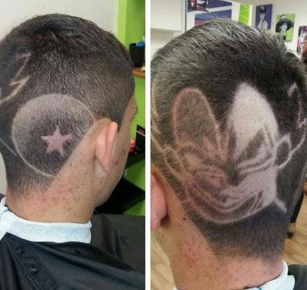Vegeta! What does my Haircut Say?