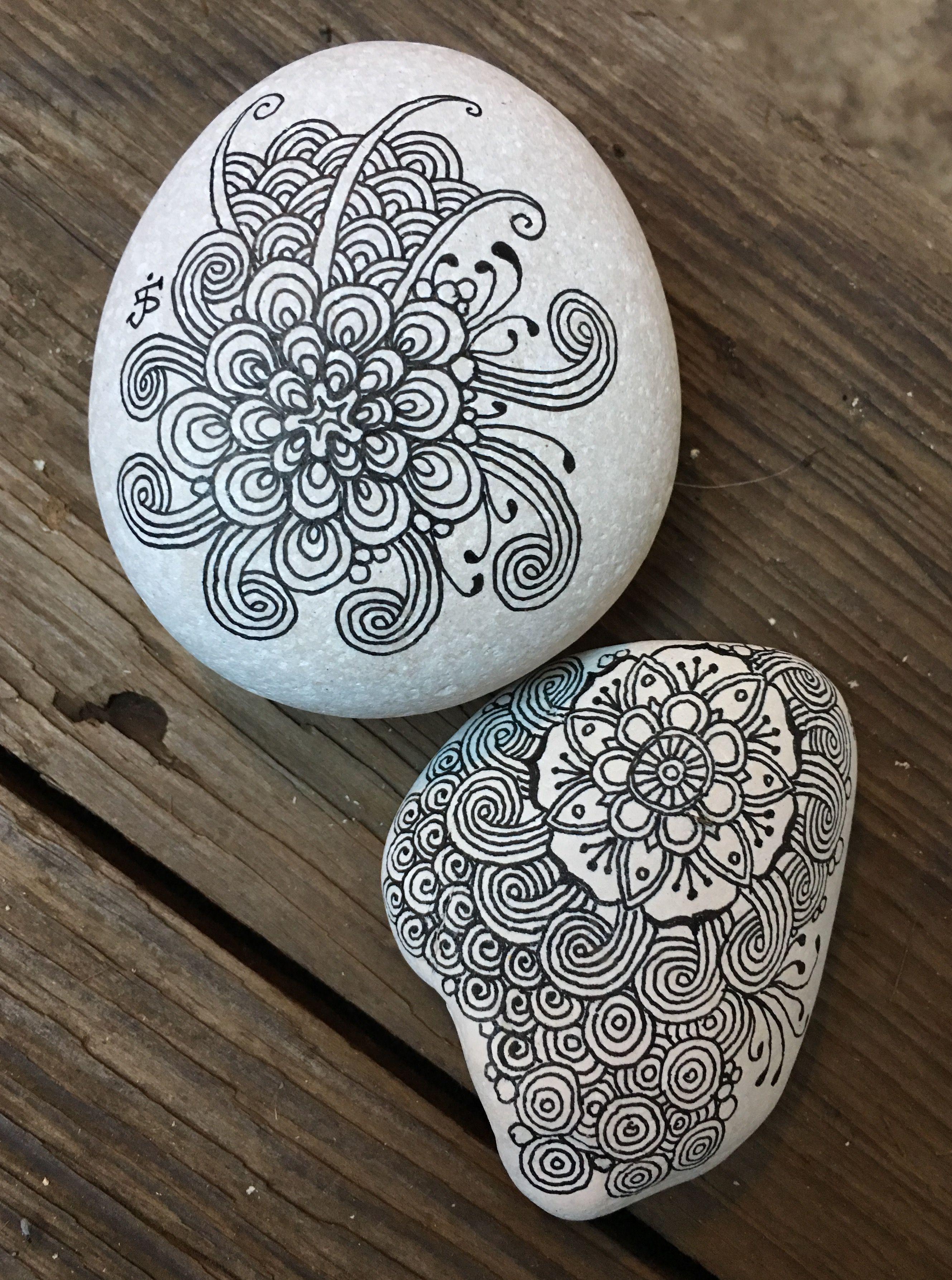 fb razrocks zentangle zia stonepainting. Black Bedroom Furniture Sets. Home Design Ideas