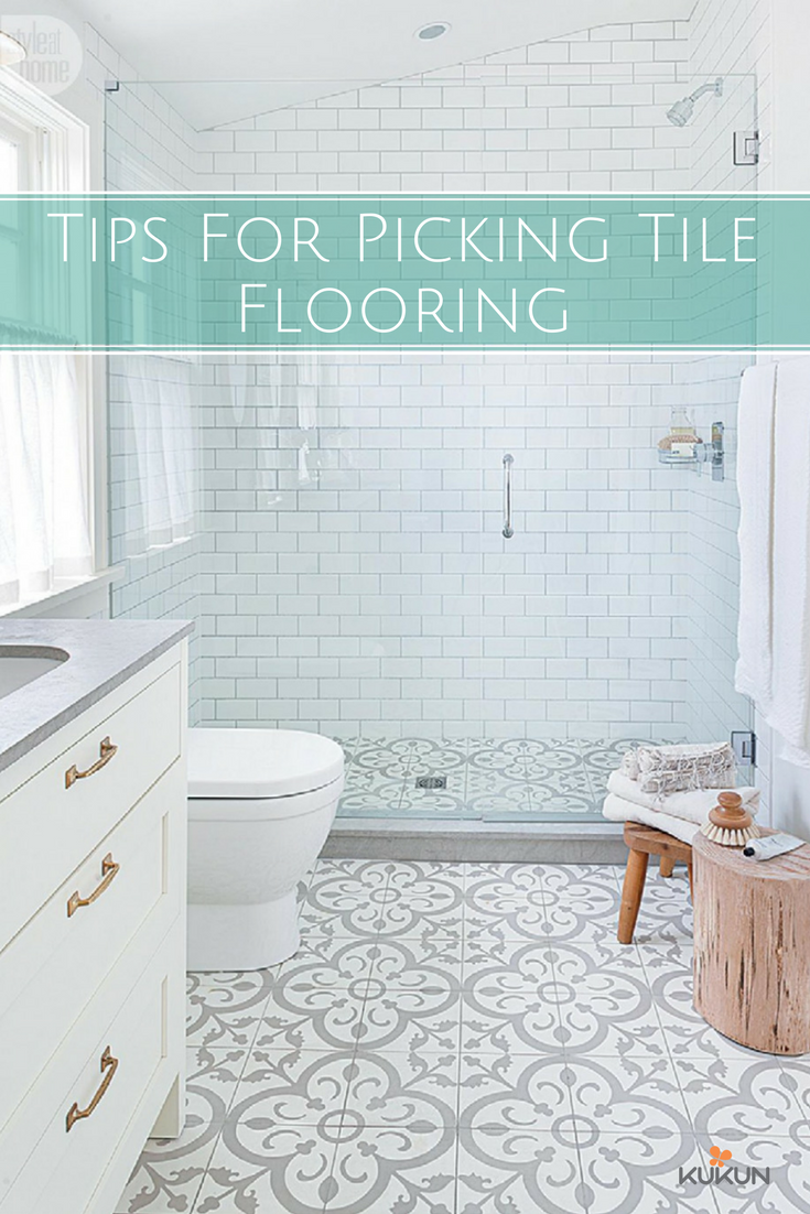 For areas like kitchen and bathrooms, choosing the tiles that absorb ...