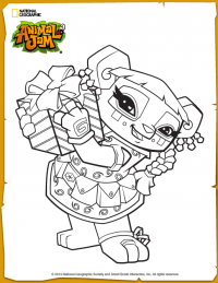 Free Downloads The Daily Explorer Animal Jam Penguin Coloring Pages Animal Jam Play Wild