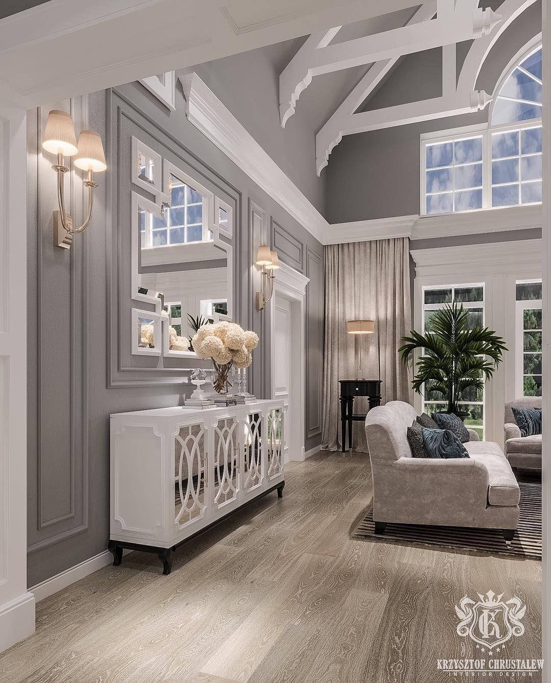 Kc Design On Instagram Newproject Interiordesign Design Designer Krzysztofchrustal Elegant Living Room Design Luxury Living Room Open Living Room Design
