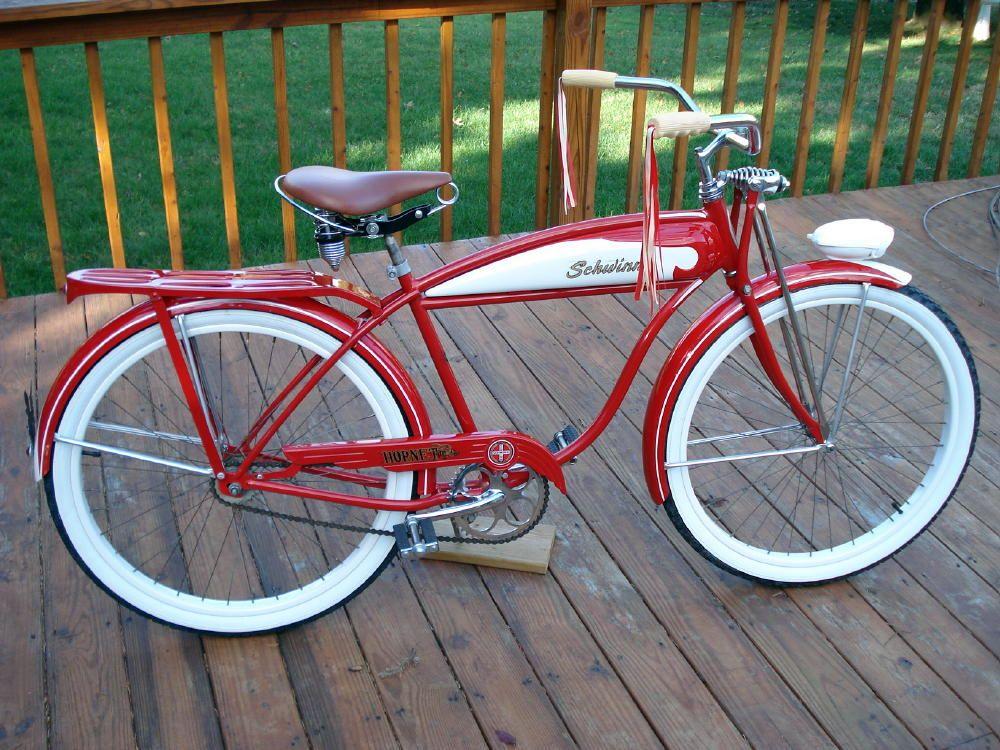 Schwinn Hornet 1958 Old Bikes Old Bicycle Schwinn