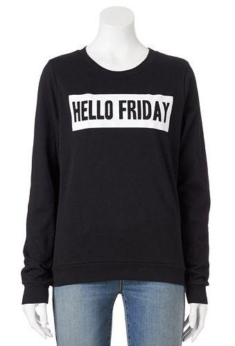 Recycled Karma Graphic Print Sweatshirt - Juniors #Kohls