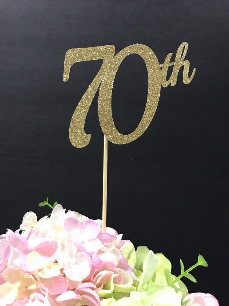 Excited to share this item from my etsy shop th birthday decorations centerpiece sticks glitter decoration table also rh pinterest