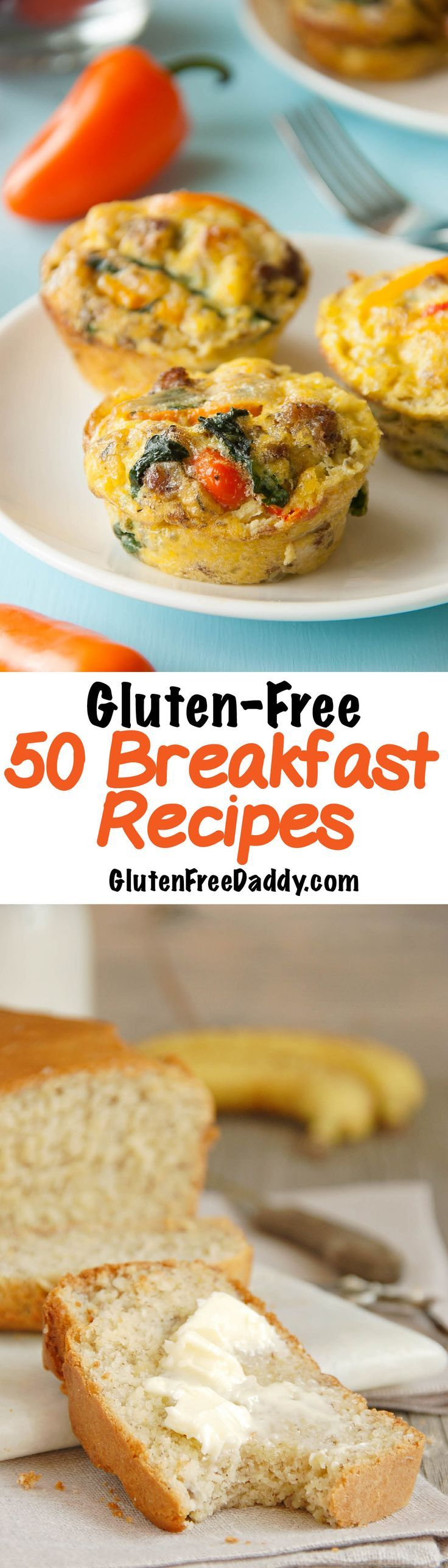 I'm hoping this list of 50 gluten-free breakfast recipes will help me get out of my rut!