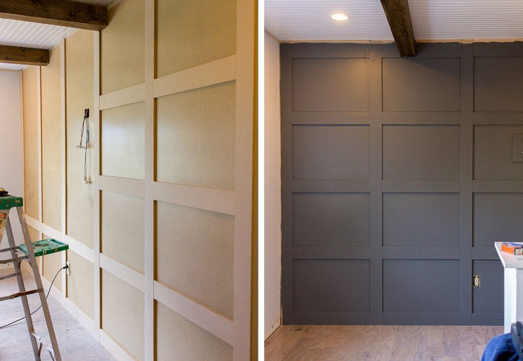 Add Character To Basic Architecture Wall Paneling A
