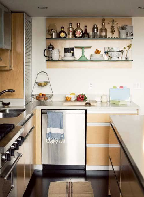 two shelves to share what you love one for you one for on kitchen shelves instead of cabinets id=45503