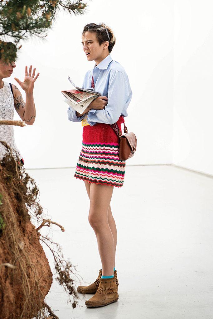 Westwood calls to Save Venice at Paris fashion show