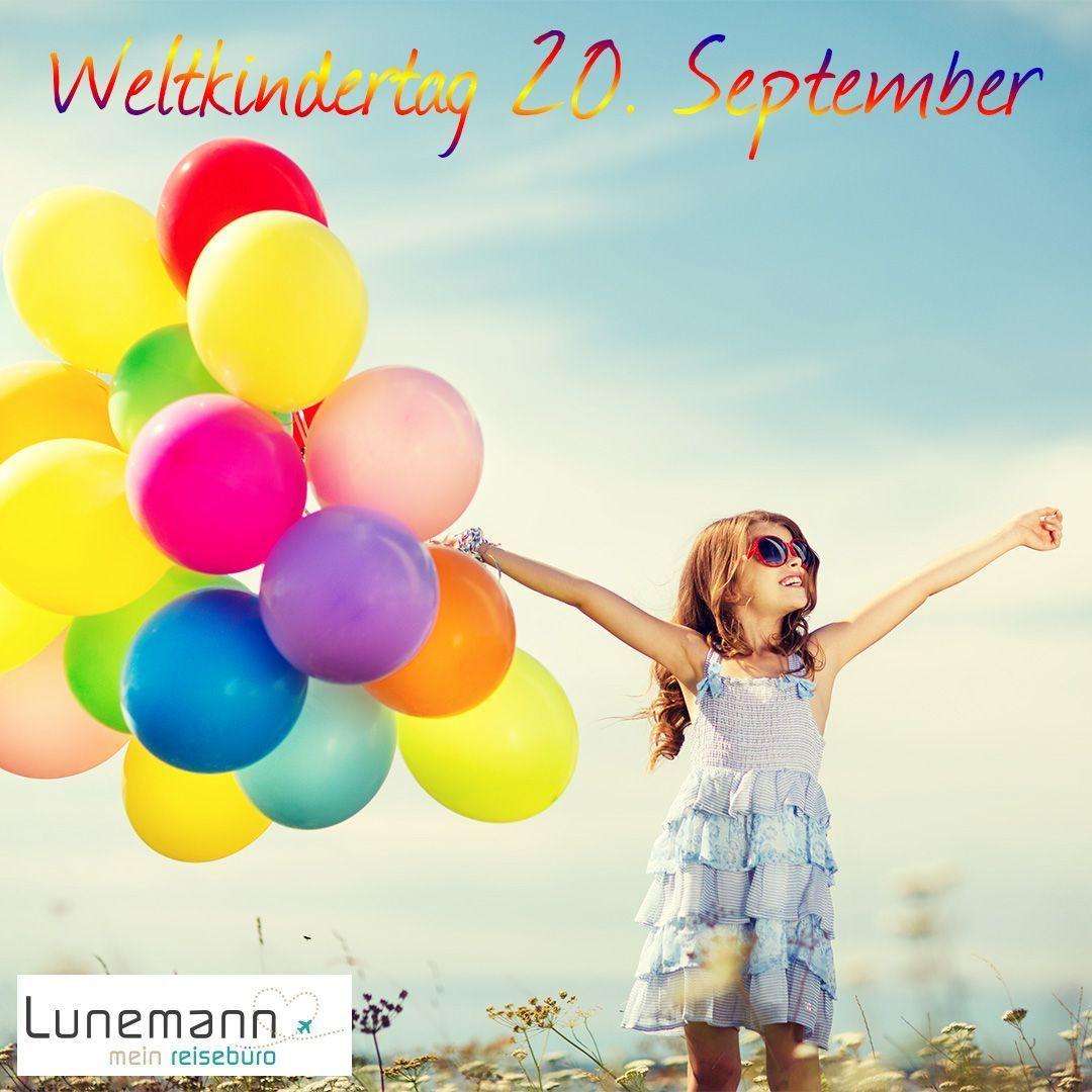 Am 20. September ist Weltkindertag! 👦👧 Was wäre die Welt