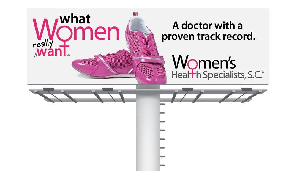 Womens health specialists billboard womens health