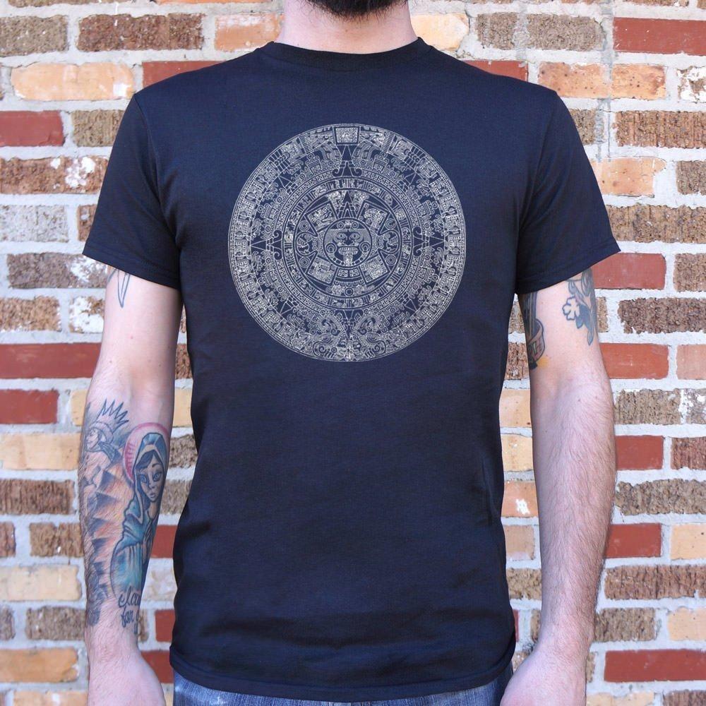 Aztec Calendar T-Shirt (Men's) #aztec