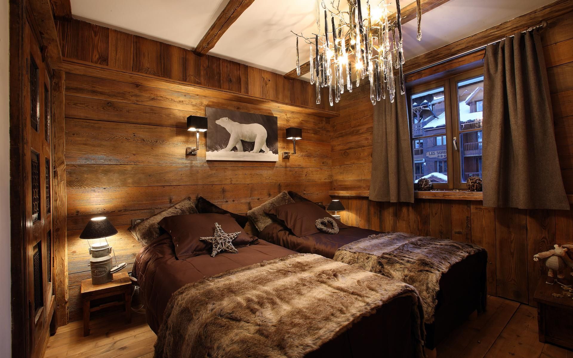 Chalet Lhotse Luxury Chalet Val D Isere France Deco Chambre