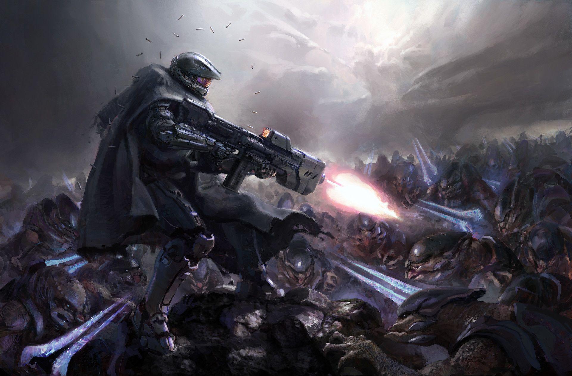 Chief by John Wallin Liberto (Halo 5)