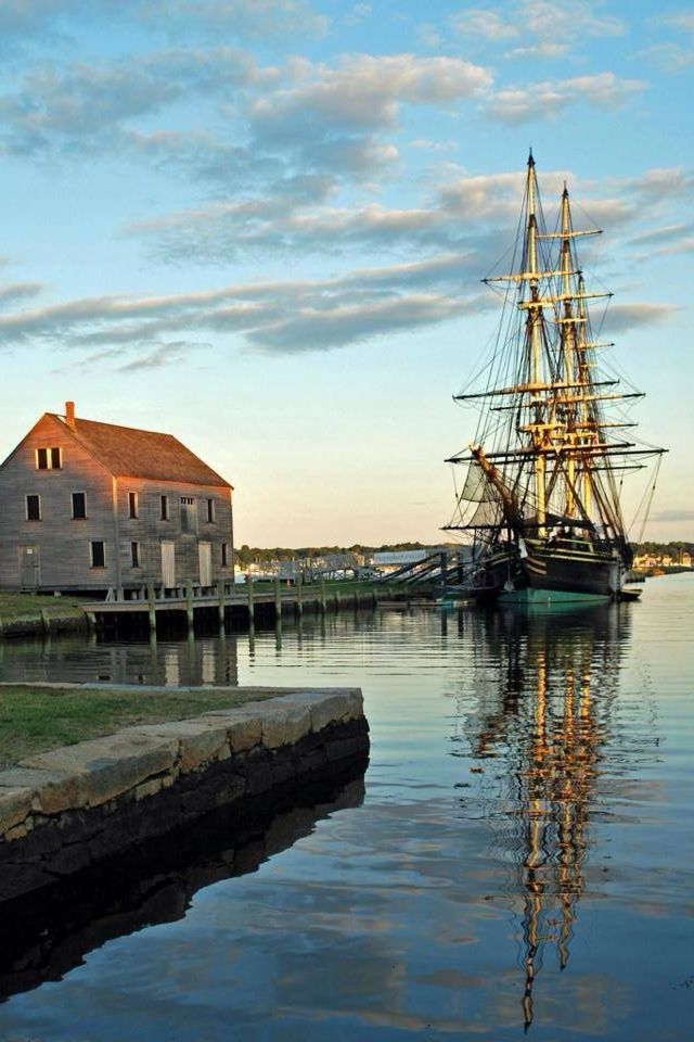 Derby Wharf Salem Ma The Friendship Is At Home Most Haunted Places Places To Go Places To Travel
