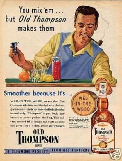 Vintage Alcohol Ads Of The 1940s Vintage Advertisements Alcohol Marketing Alcohol