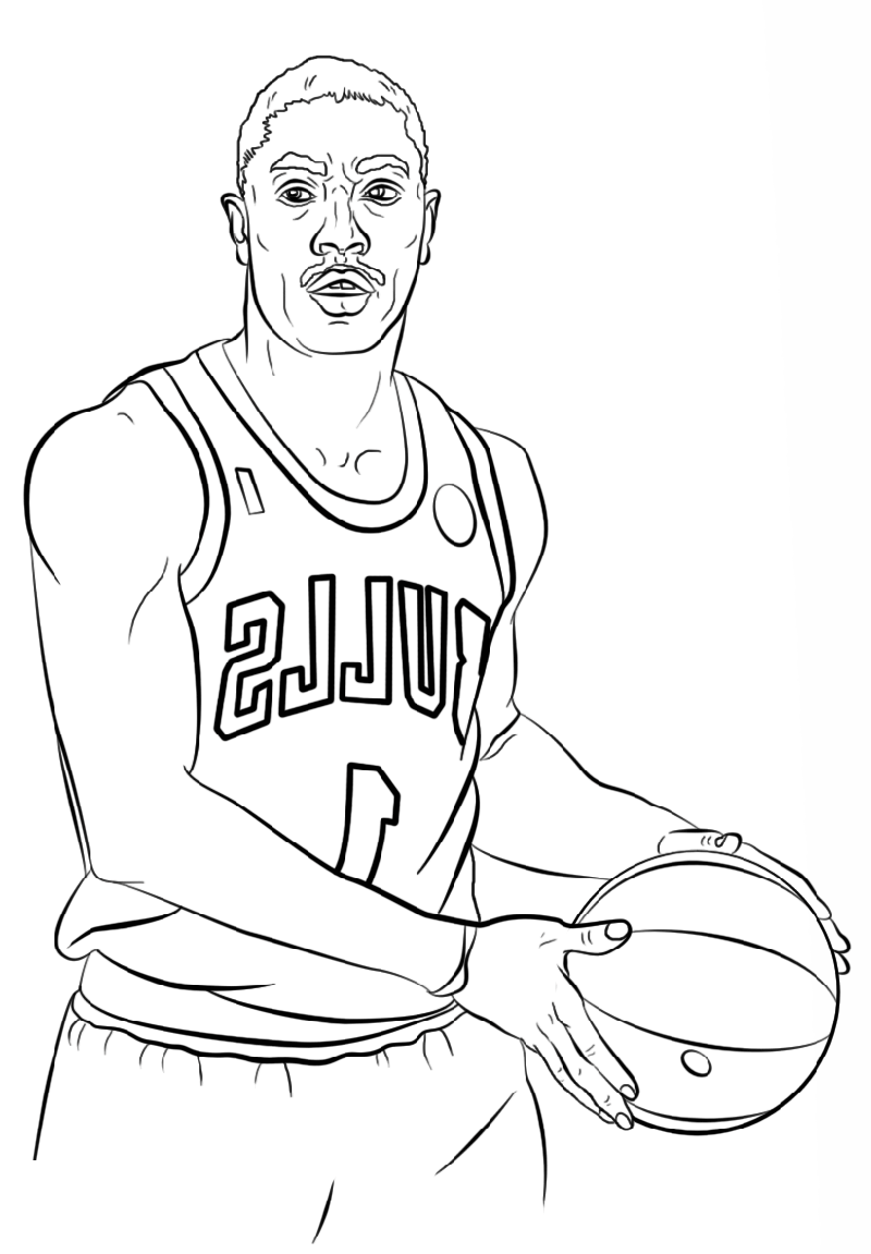 Printable Nba Coloring Pages Free Coloring Sheets Sports Coloring Pages Coloring Books Coloring Pages