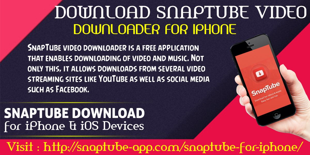 downloaded snaptube ios
