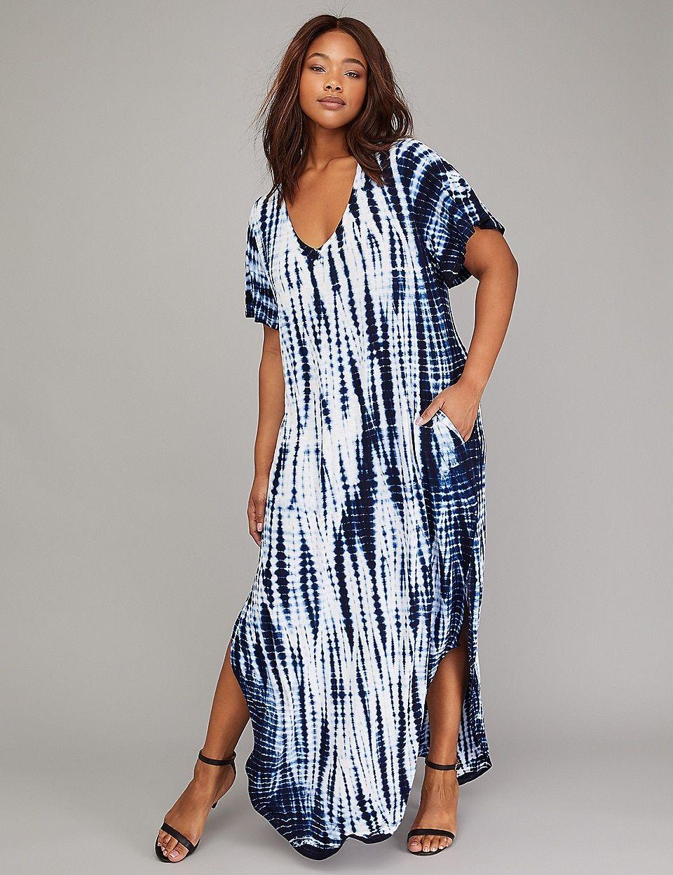 bdab1d7a9d Tie-Dye Active Maxi Dress | Lane Bryant | Sew Inspirational | Tie ...