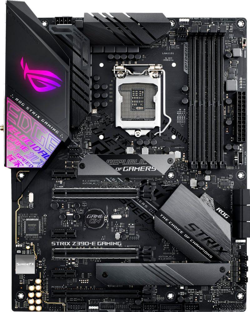 ASUS - ROG STRIX Z390-E GAMING (Socket LGA1151) USB 3 1 Gen 1 Intel