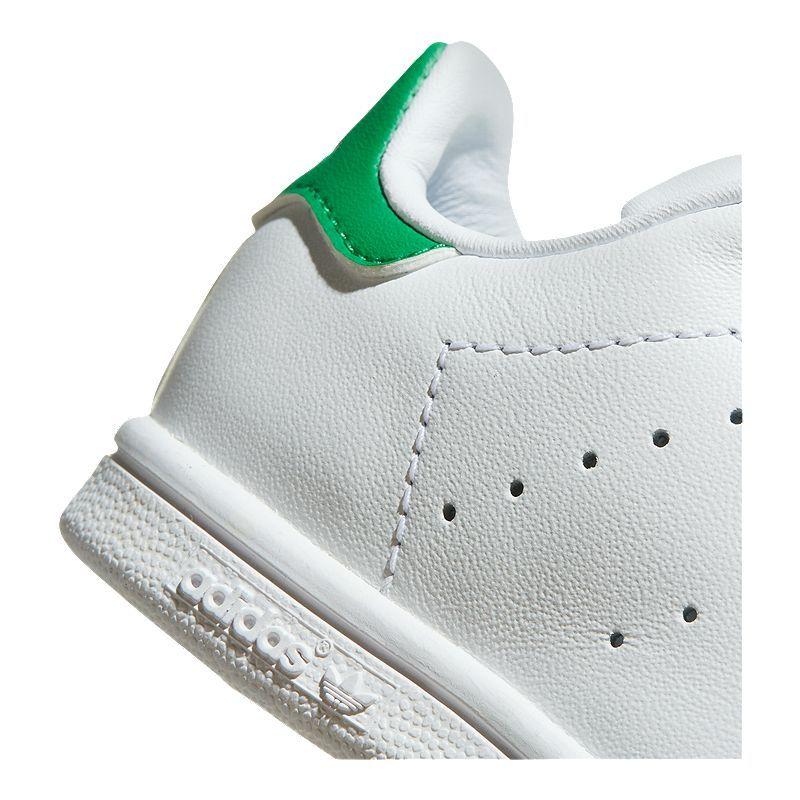 adidas Boy Toddler OG Stan Smith Shoes WhiteGreen