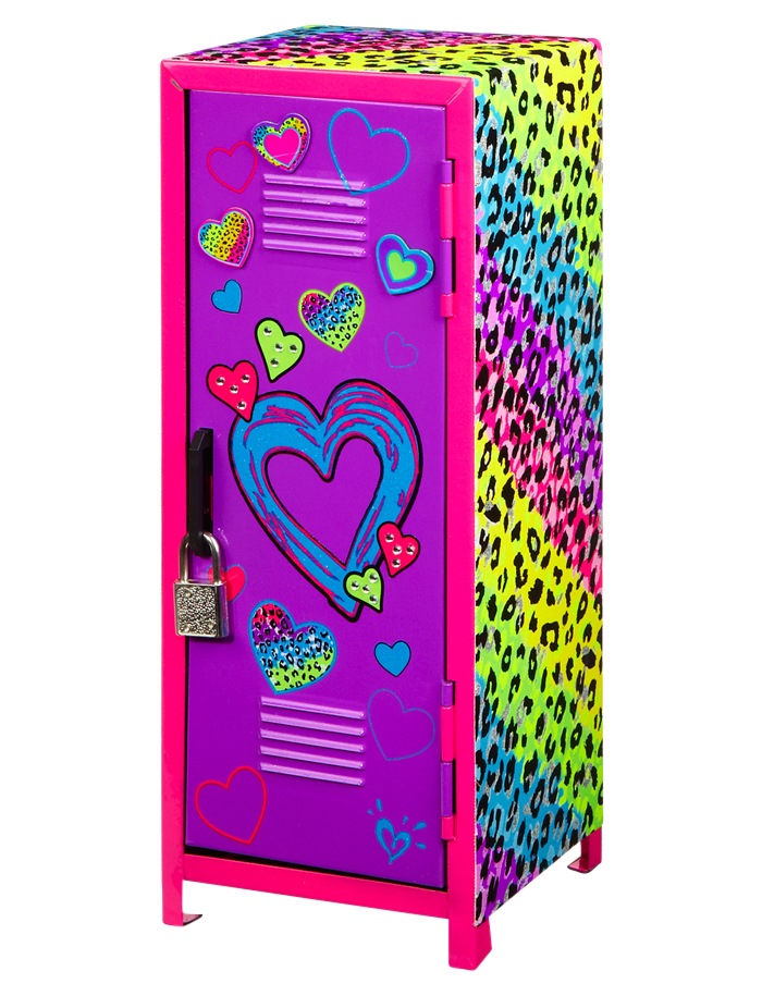 Magnificent Girls Clothing Room Accessories Leopard Mini Locker Download Free Architecture Designs Rallybritishbridgeorg
