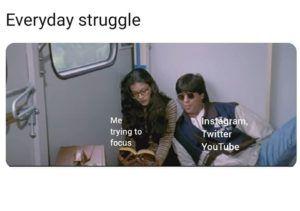 Everyday Struggle For Students In Lockdown