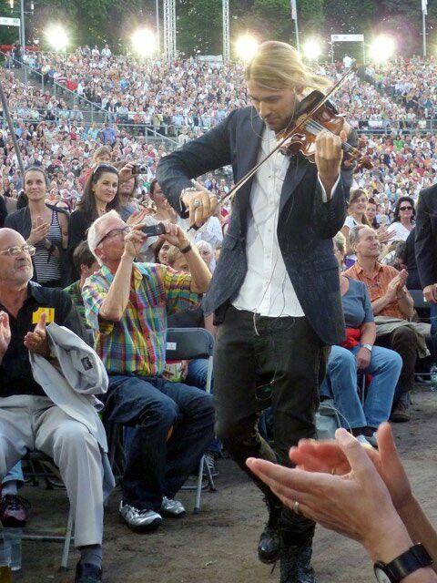 David Garrett open air concert Germany