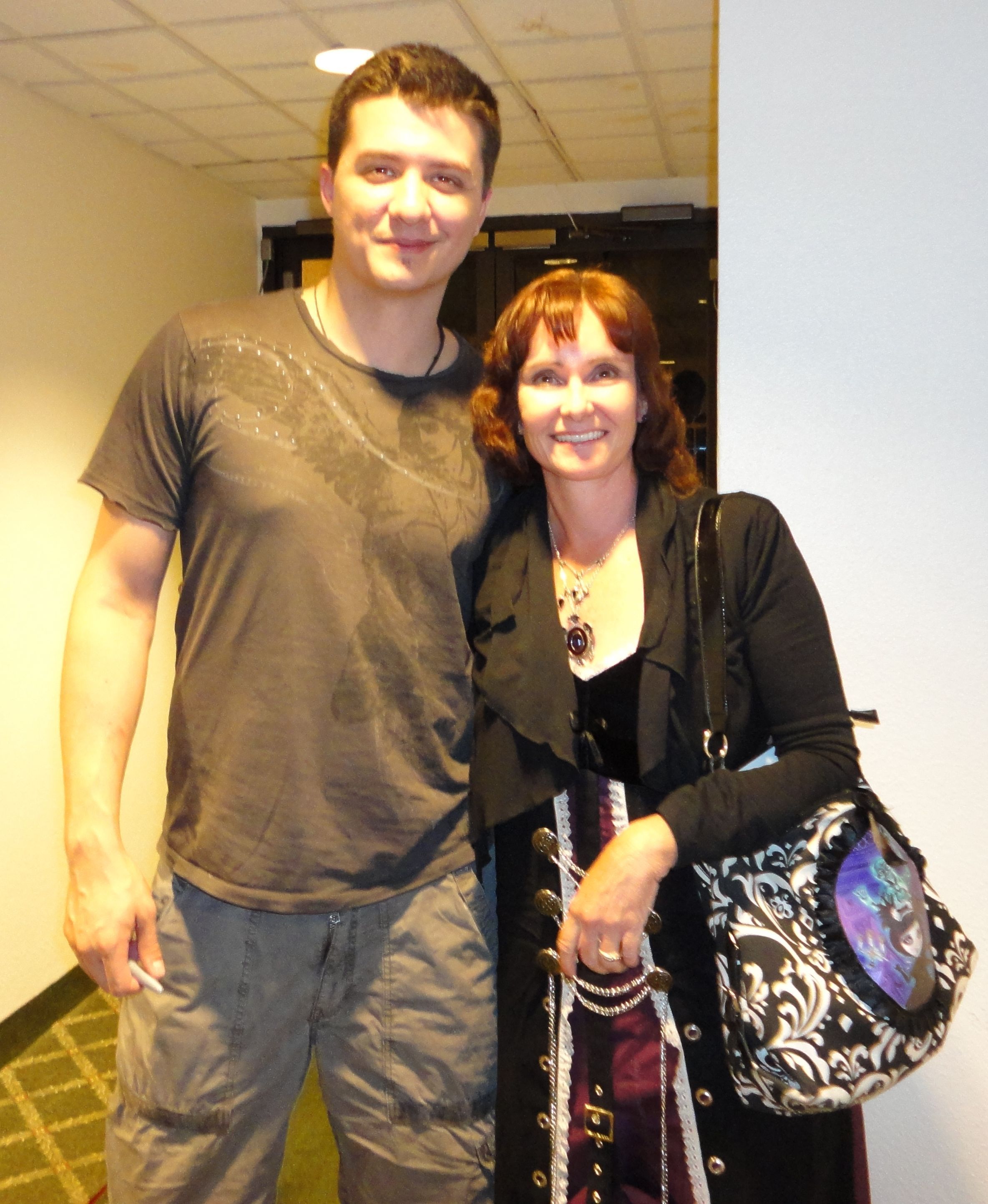 Me and Ryan Buell (Paranormal State) at the opening of American