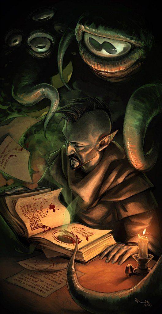 Hermaeus Mora, Daedric Prince of Knowledge, Fate, and Memory | TES ...