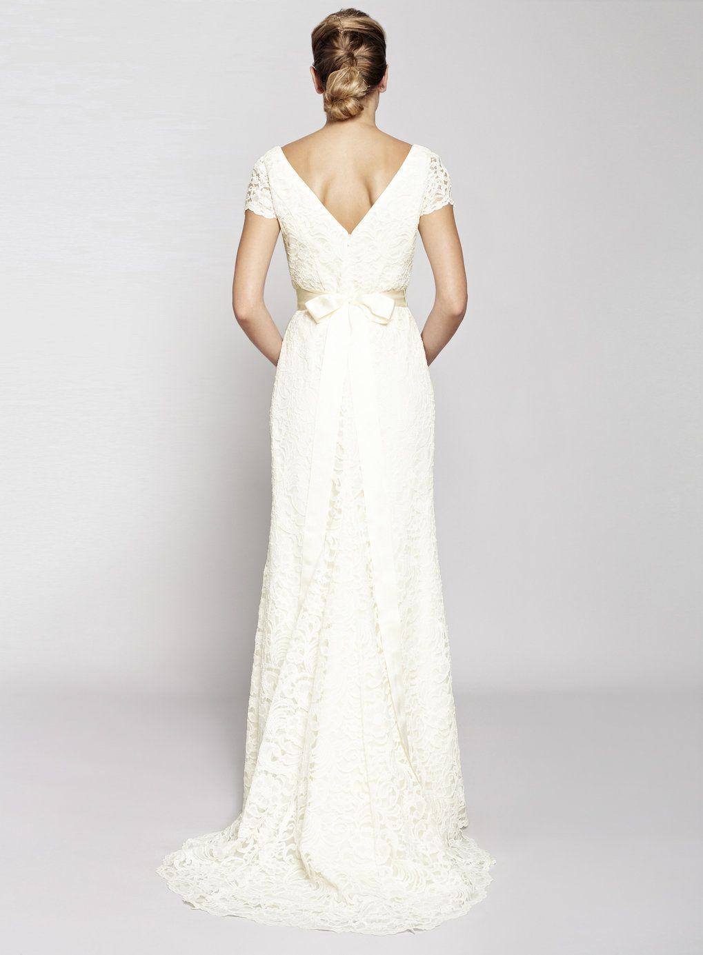Ivory Sophie Wedding Dress Dresses Wedding Dresses Sheath Wedding Dress