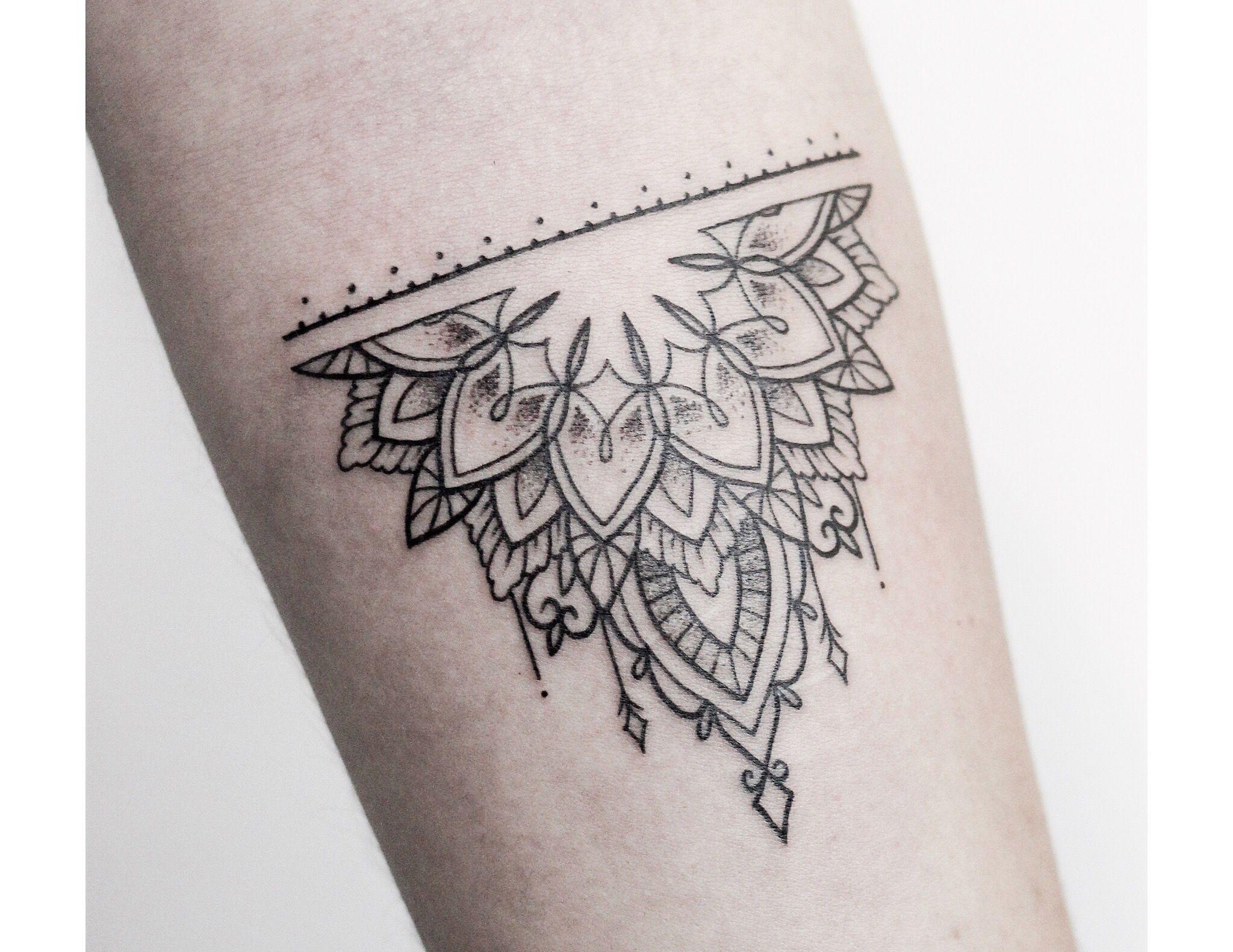 Image Result For Simple Half Mandala Tatuagens Inspiradoras