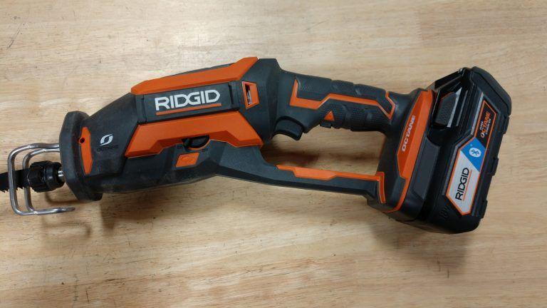 Ridgid Octane 18v Brushless One Handed Reciprocating Saw Review R86448 Ridgid Tools Garage Tool Storage Tools